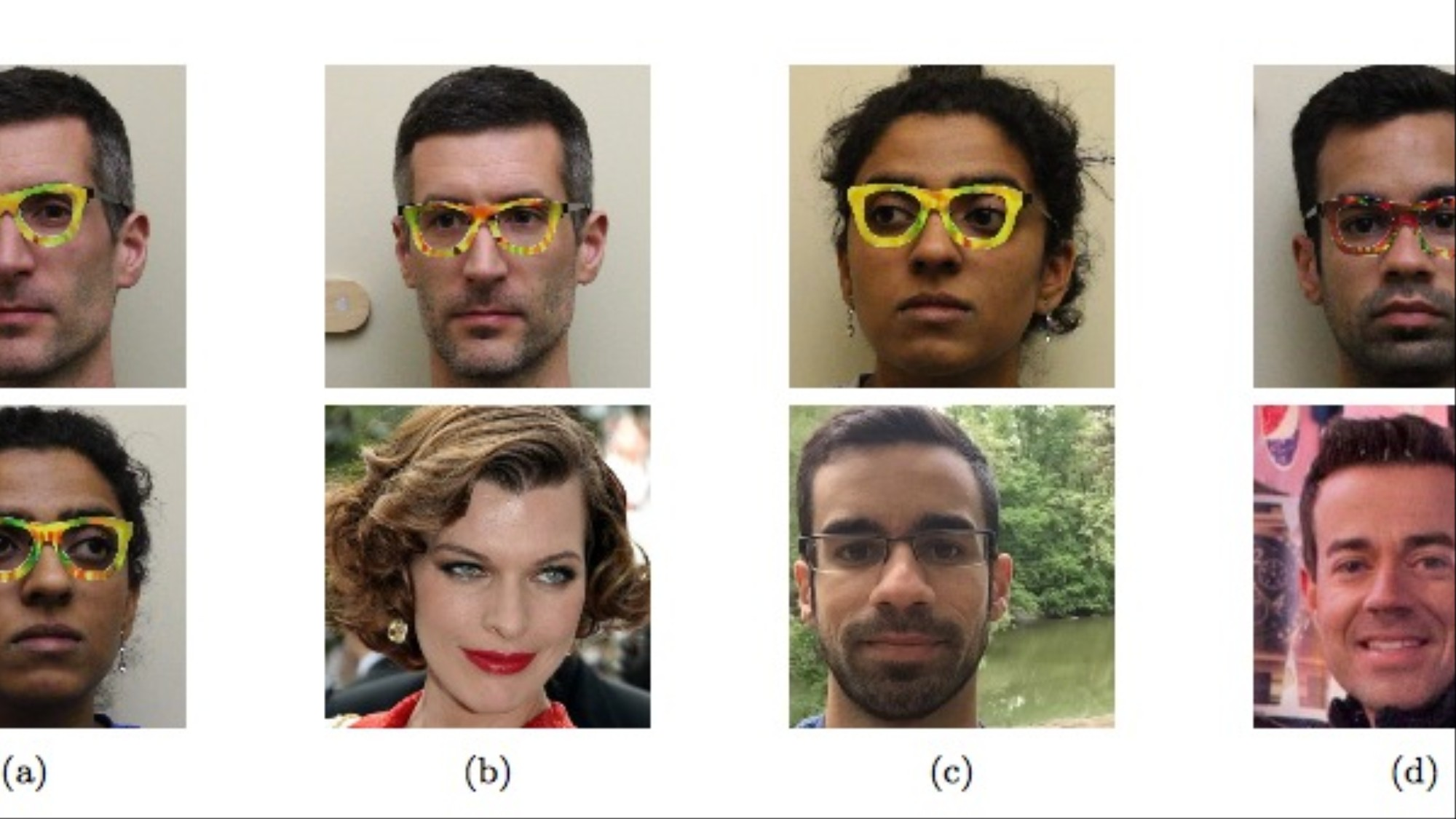 These Glasses Fool Facial Recognition Into Thinking You're