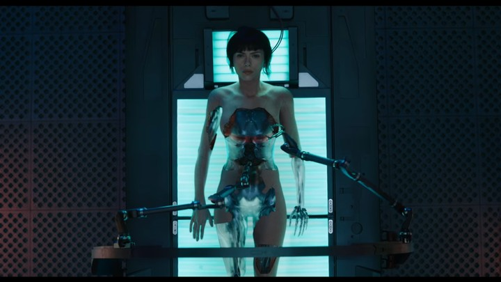The First 'Ghost in the Shell' Trailer Is Here