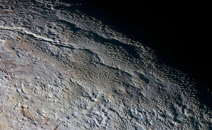 Pluto Has Towers of Ice 1,600 Feet Tall