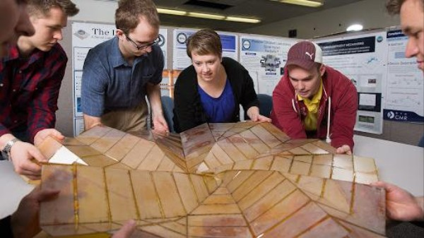 New Solar Array Designs Take Origami to Space