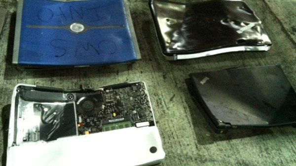 Who Smashed the Laptops from Occupy Wall Street? Inside the NYPD's Lost and Found