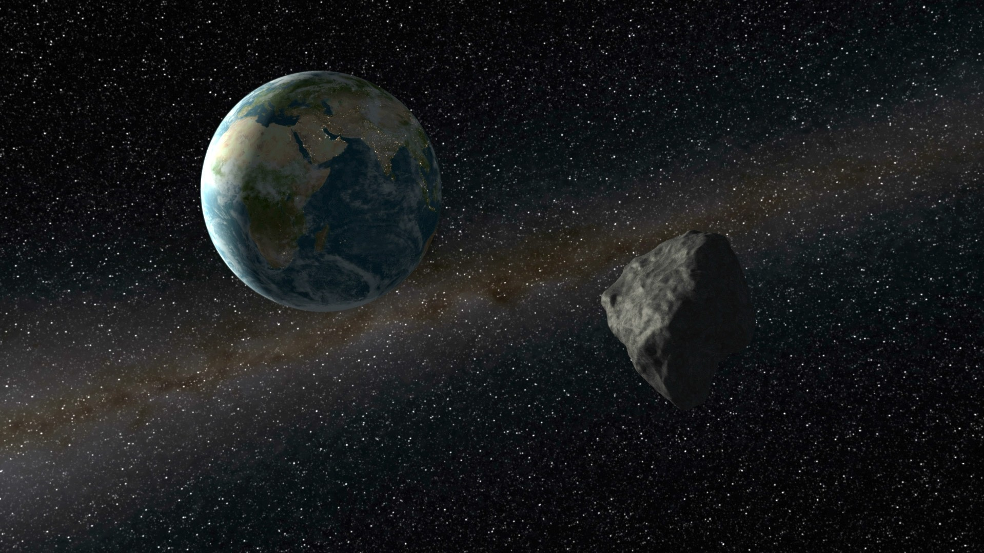 An Asteroid Will Almost Hit the Earth Tonight