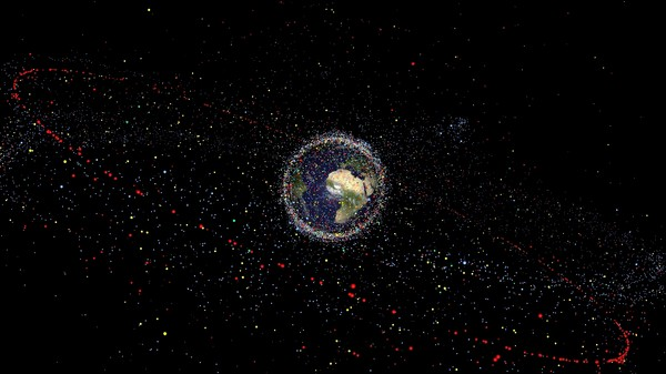 The Latest Space Junk Cleanup Plan Involves Harpoons, Tentacles, and Giant Nets
