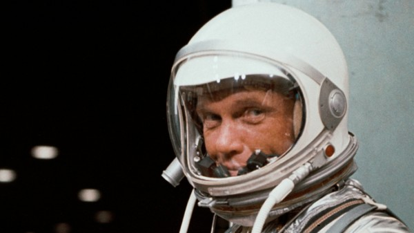 How John Glenn Lucked Out of This World