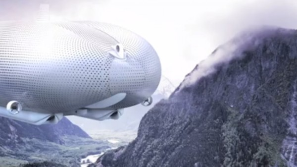 An Infinity Pool-Equipped Spy Blimp Will Be the World's Largest Aircraft