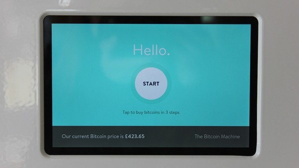 A Visit to the UK's First Bitcoin ATM
