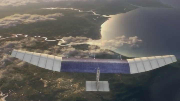 Facebook Will Use Drones and Lasers to Give the Internet to Everyone