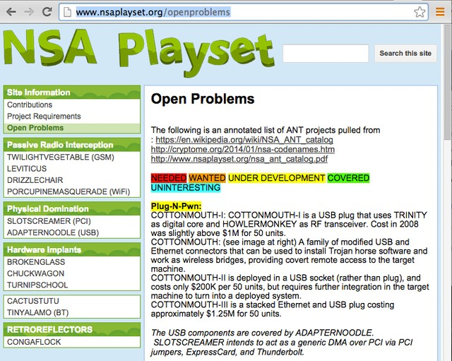 Let's Play NSA! The Hackers Open-Sourcing Top Secret Spy