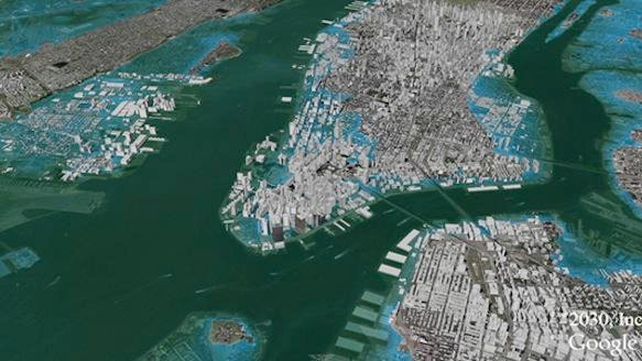 This Google Map Layer From 2007 Predicted Sandy-Like Flooding in New York City