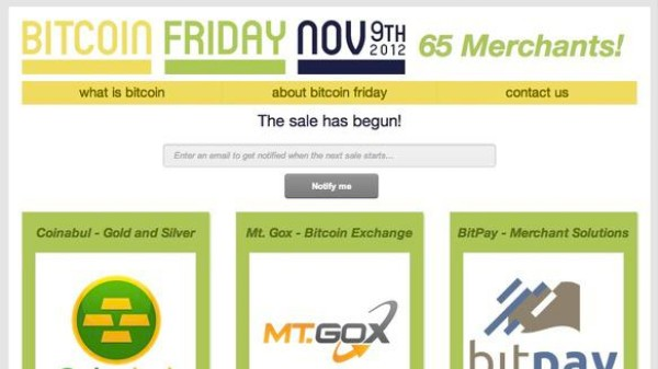 Bitcoin Had Its Own Black Friday