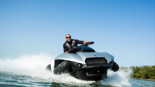 What Couldn T You Do With This Hybrid Atv Jet Ski