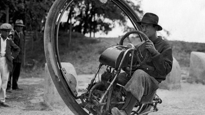 A Brief History of the Monocycle, Humanity's Most Useless Vehicle