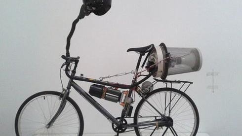 Beijing's Hacker Bike Pumps Clean Air Into Your Lungs as You Ride