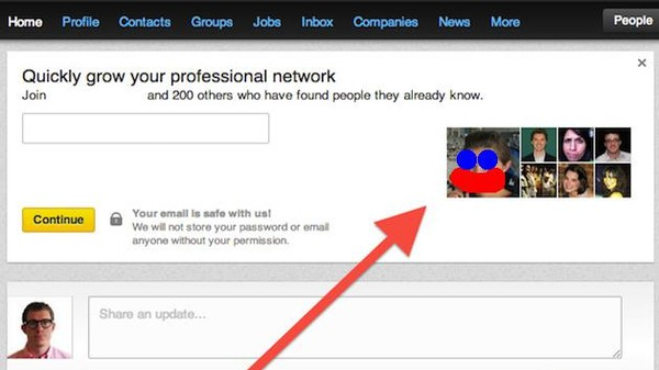 Why Is LinkedIn Taunting Users with Pictures of Their Exes?