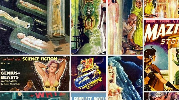 Why Are Women in Old Science Fiction Always Stuck in Tubes?