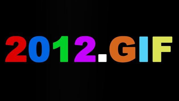 The Year 2012 in 50 GIFs
