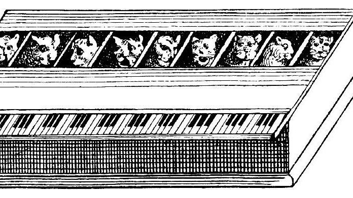 Keyboard Cats: The Dream of the Katzenklavier, a Piano Made of Meows