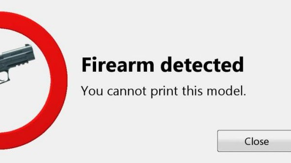 New Software Will Prevent You From Accidentally Printing a Gun
