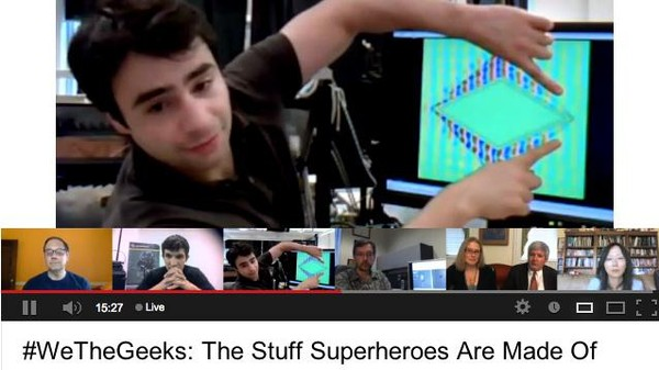 The White House Hosted a Google Hangout to Find the Next Real-Life Superhero Tech