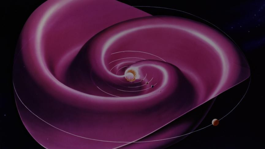 The Sun's Magnetic Poles Are About to Flip