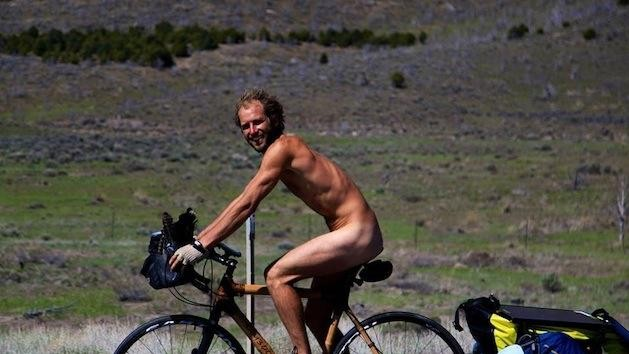 The Guy Who Cycled Naked Across Part of the US