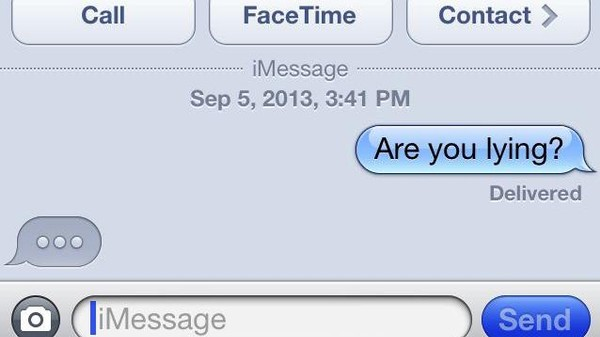Awkward Texting Is the New Lie Detector