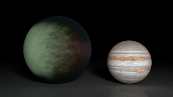 This Planet's Clouds Are Made of Rocks and Never Move