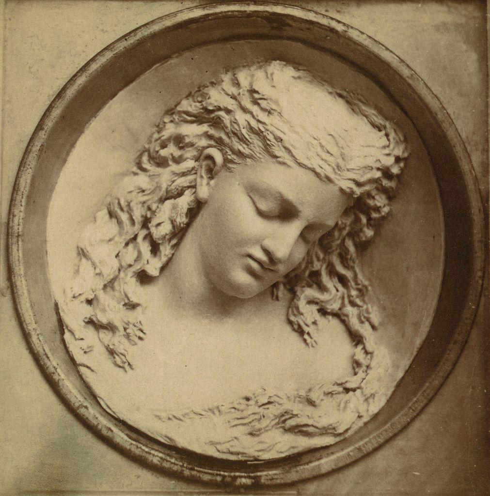 """Dreaming Iolanthe"" by Caroline Shawk Brooks. Photo courtesy of Wikimedia Commons."