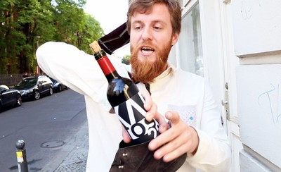 How-To: Open a Wine Bottle with a Shoe