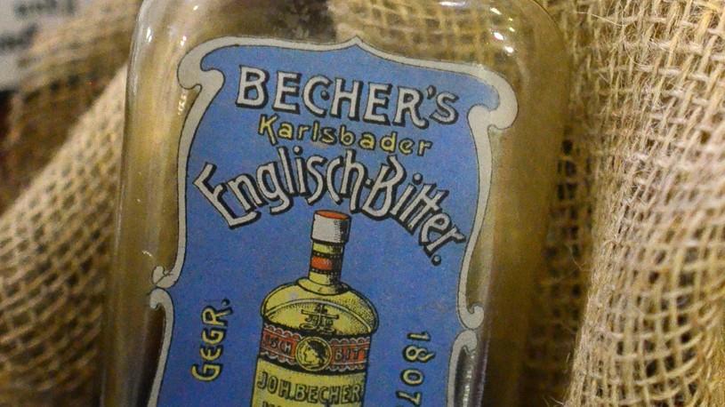 Becherovka - The First Bottle