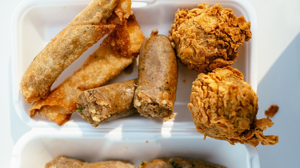 ... (think boudin egg rolls), boudin links, and the famous boudin balls