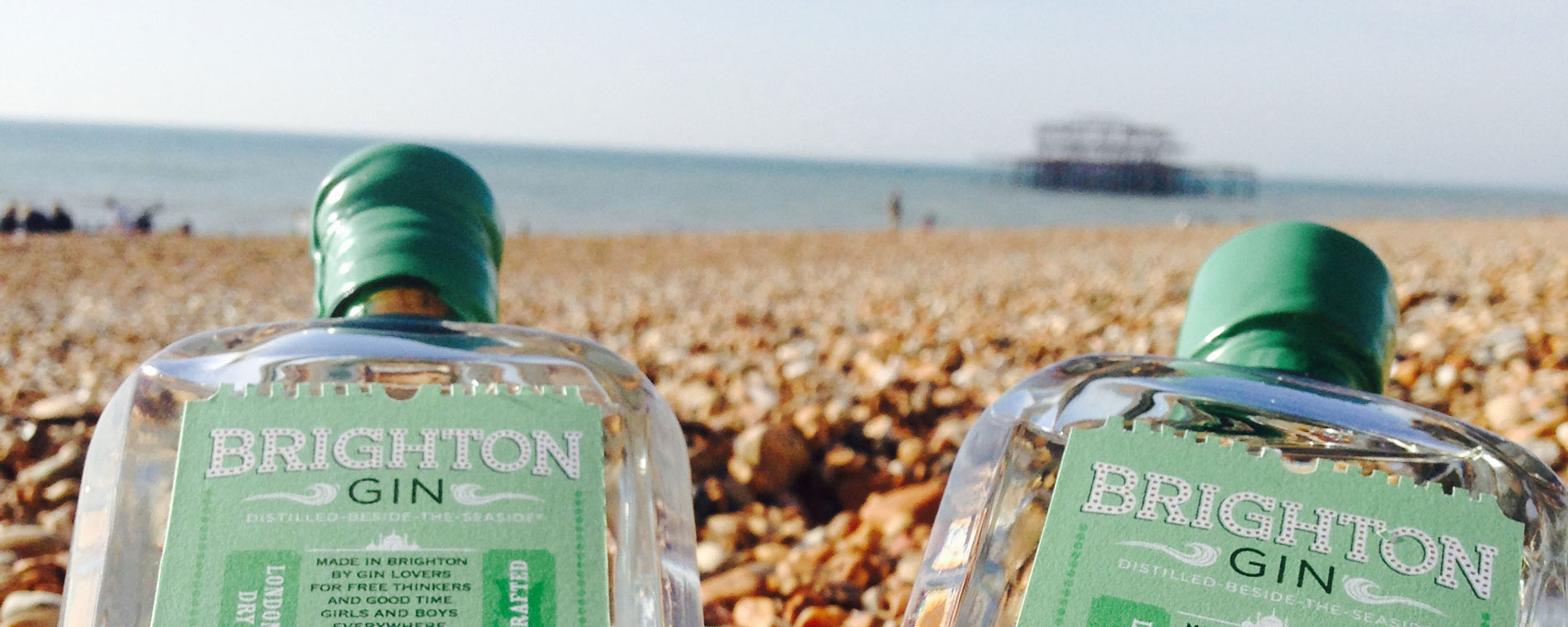All photos courtesy Brighton Gin.