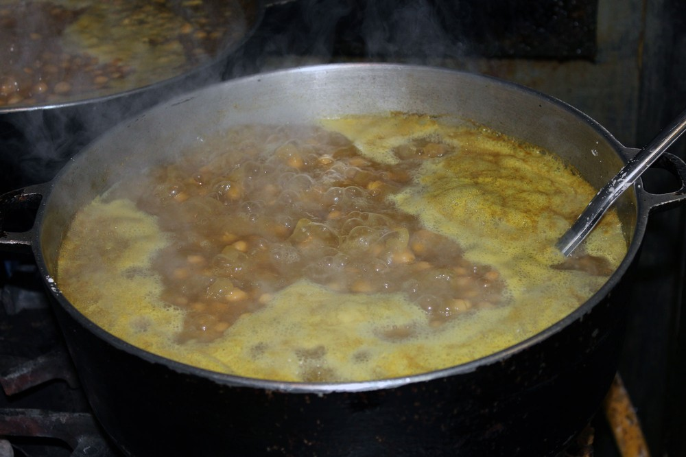 Channa-cooking