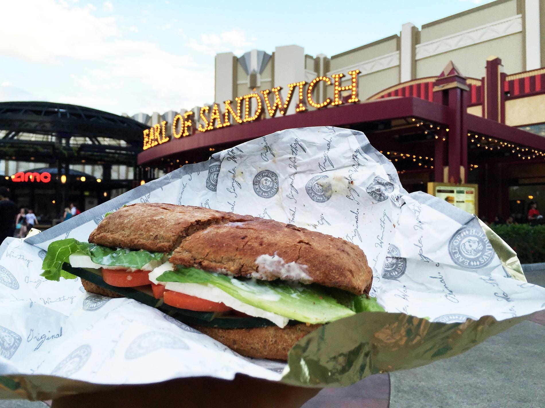 Free veggie sandwich