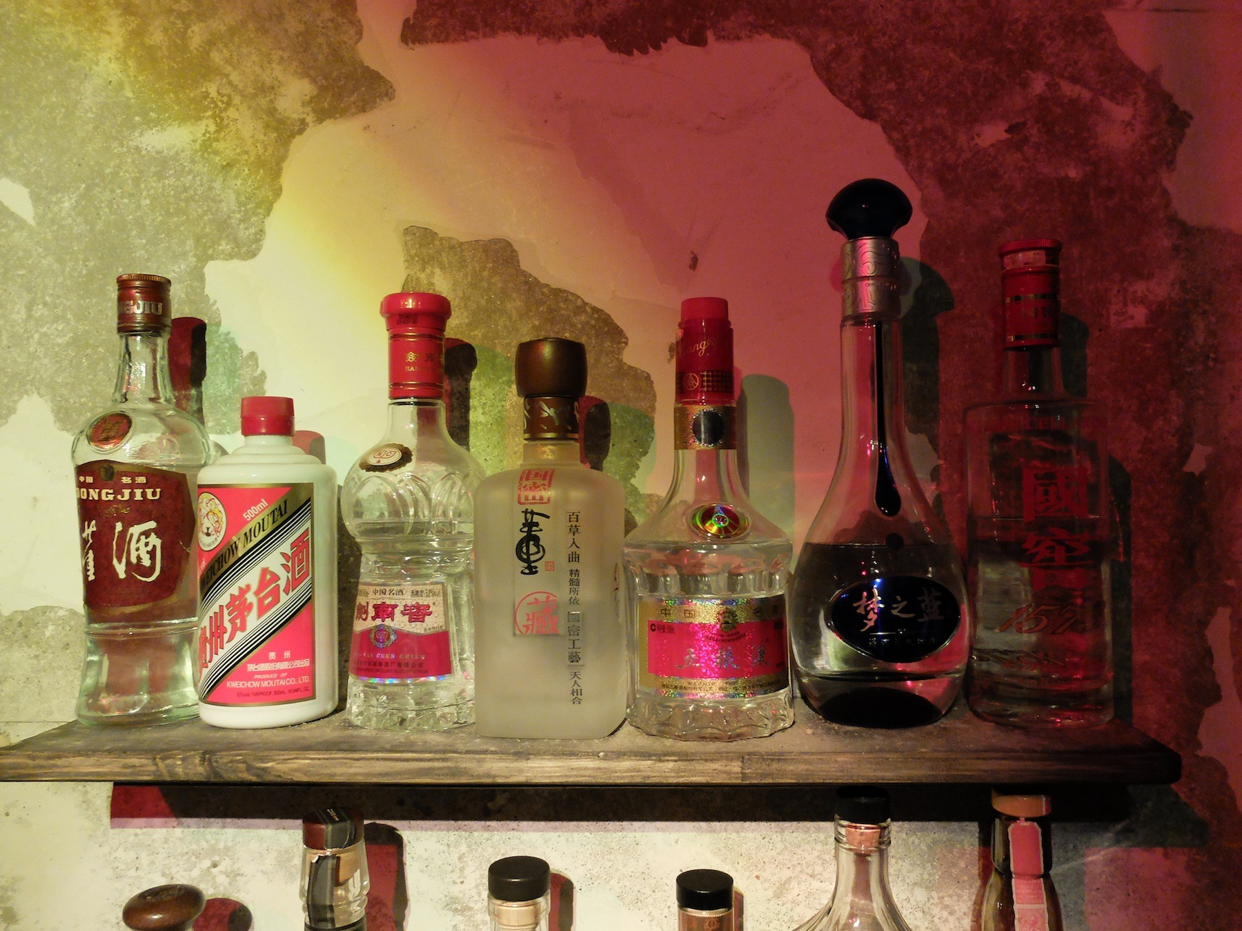 Expensive 'top shelf' baijiu