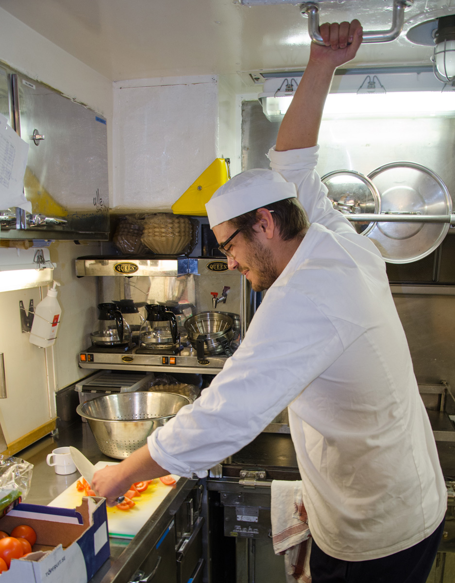 How to Cook Aboard a Swedish Navy Warship - MUNCHIES