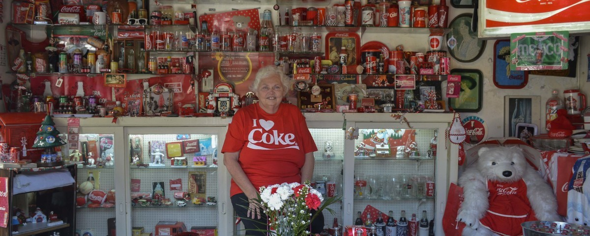 The Coca-Cola-Obsessed Woman Who Made Her House Into a Soda Shrine