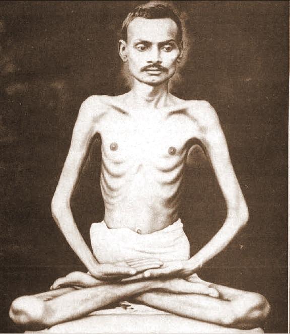 Shrimad Rajcandra, Jain and mentor to Mahatma Gandhi. Photo via Wiki Commons