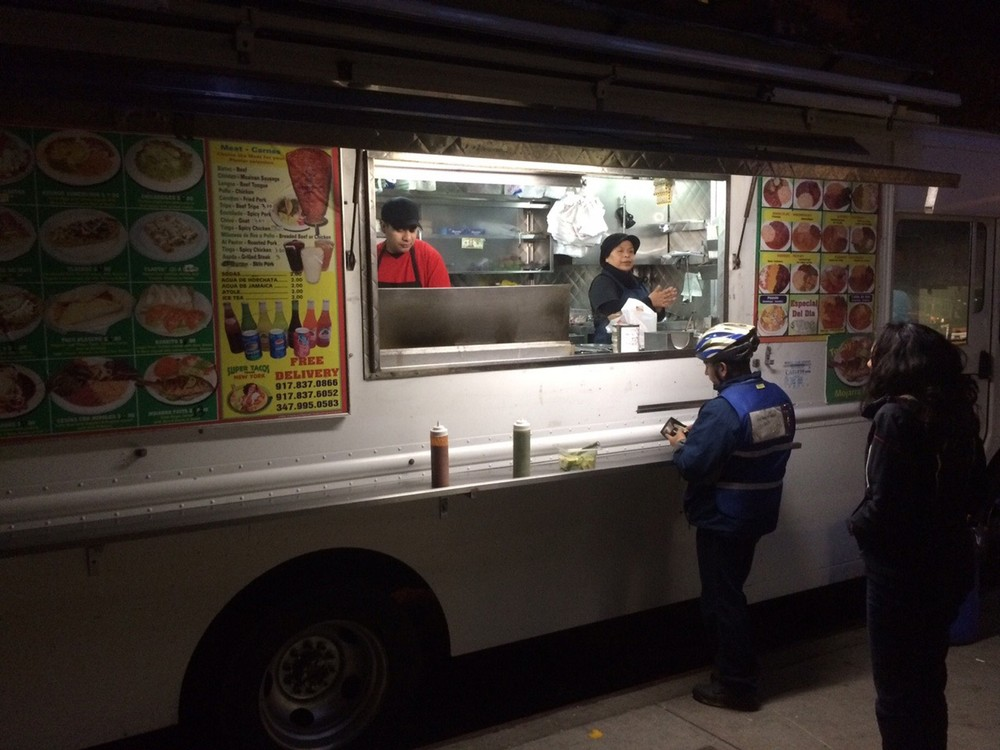 Super Tacos NYC Food Truck on 97th Street