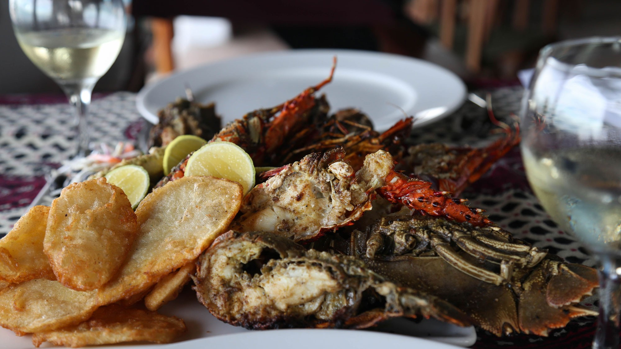 The-Rock-Special-seafood-platter-up-close