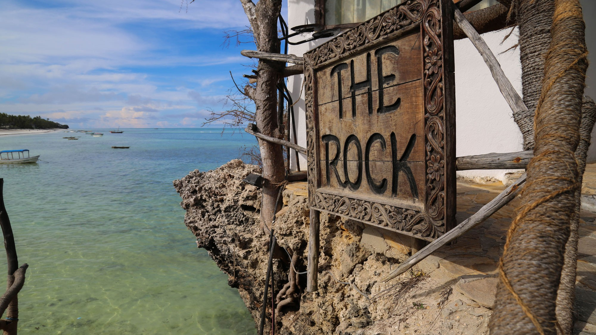 The-Rock's-sign