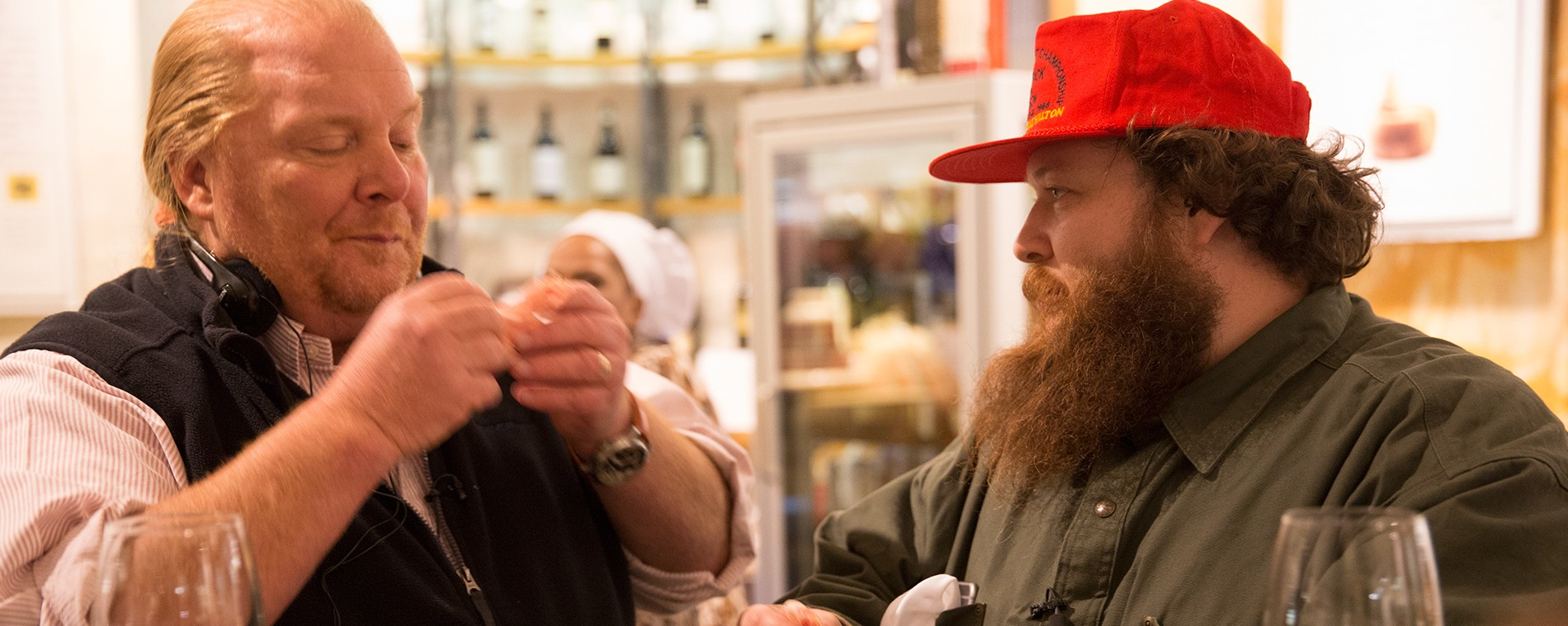 Action Bronson and Mario Batali Make Pizza