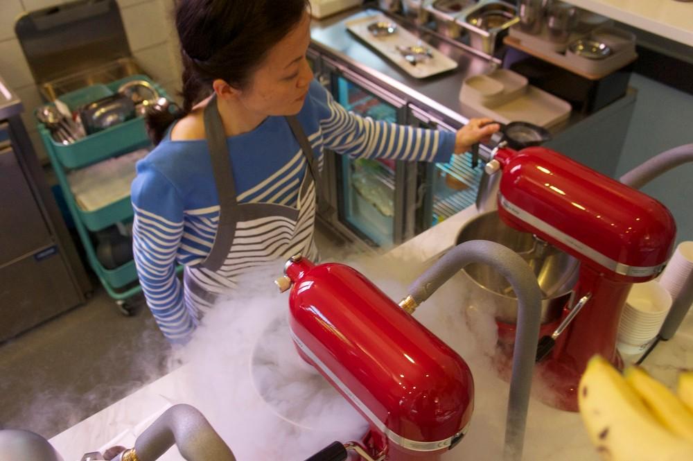 Janet maakt met stikstof en infrarood in drie minuten een