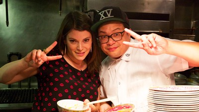 Watch Gail Simmons of 'Top Chef' Eat and Drink NYC's Best in Chef's Night Out
