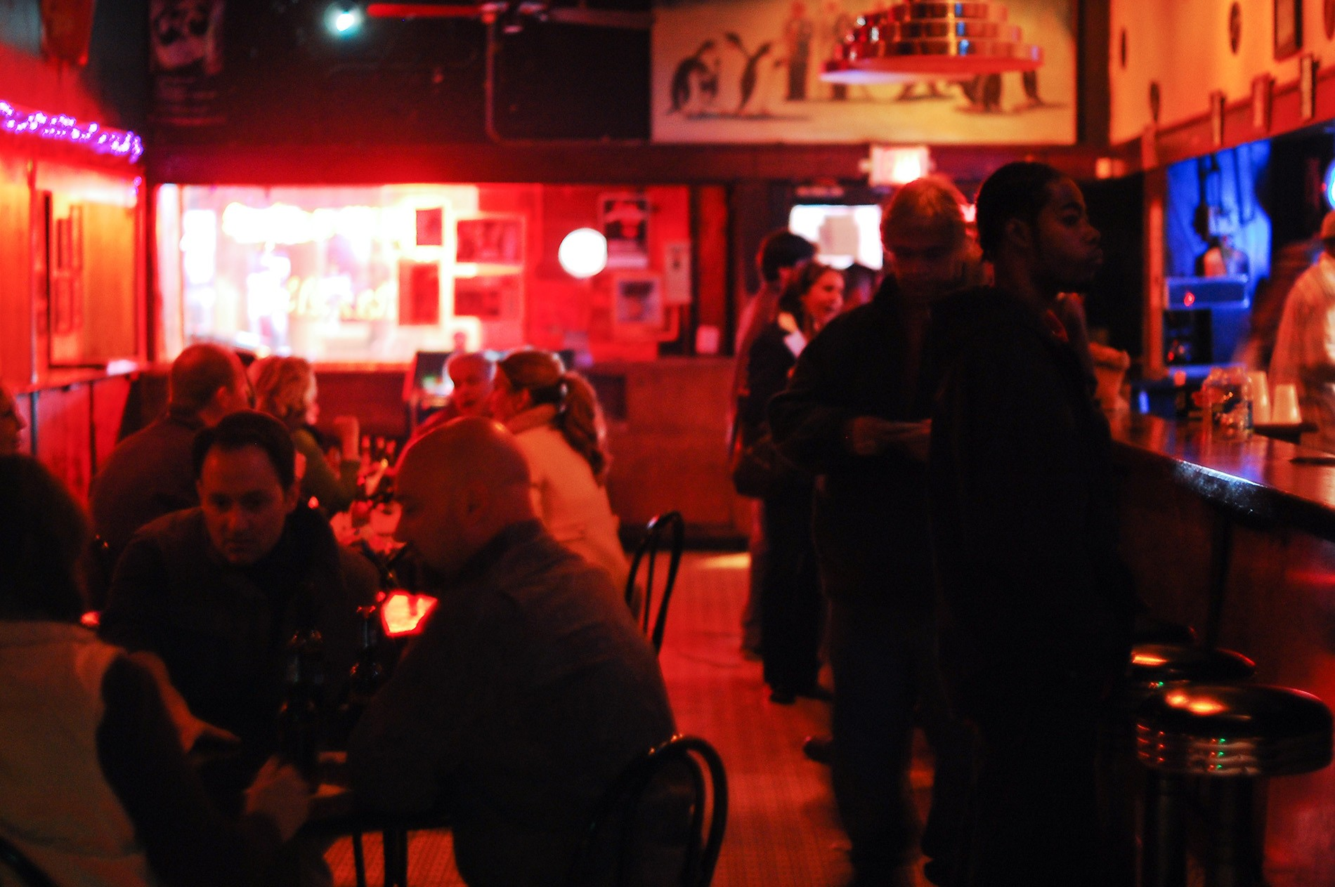 The bar. Photo via Flickr user Eric Allix Rogers