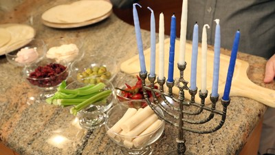 MUNCHIES Hanukkah Spectacular: How To Make Edible Candles with Marc Salem