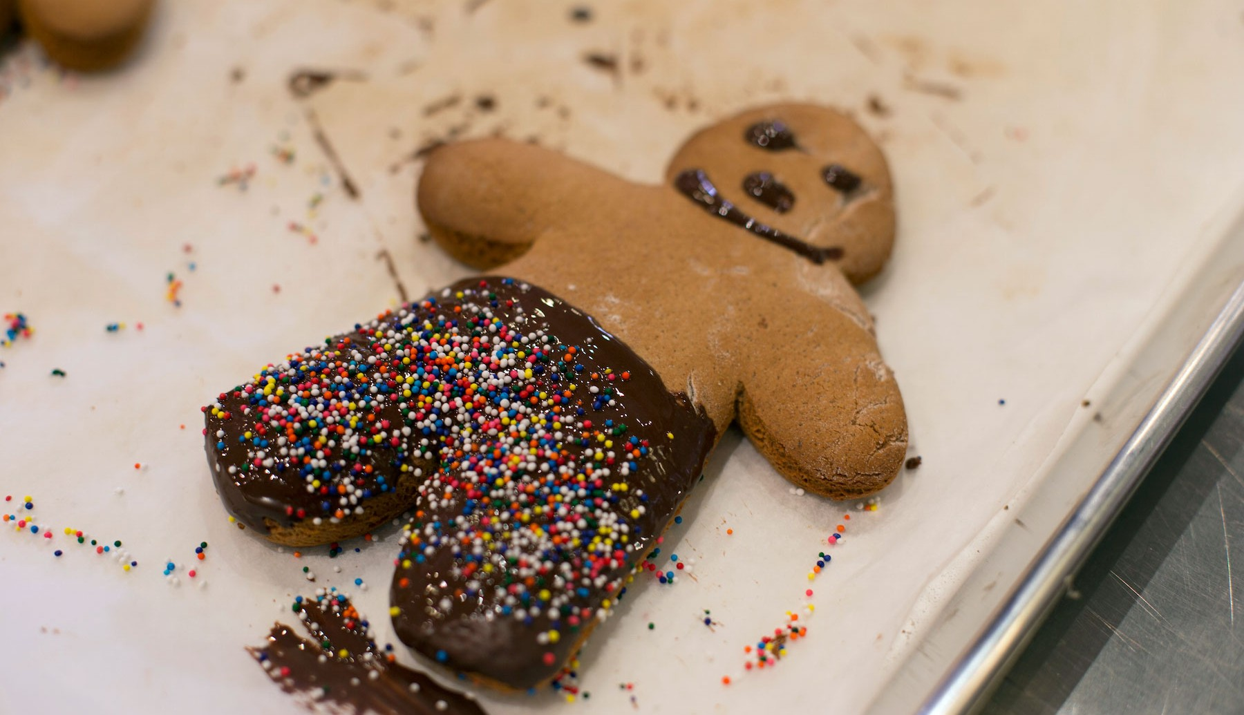 The Perfect (Gingerbread) Man