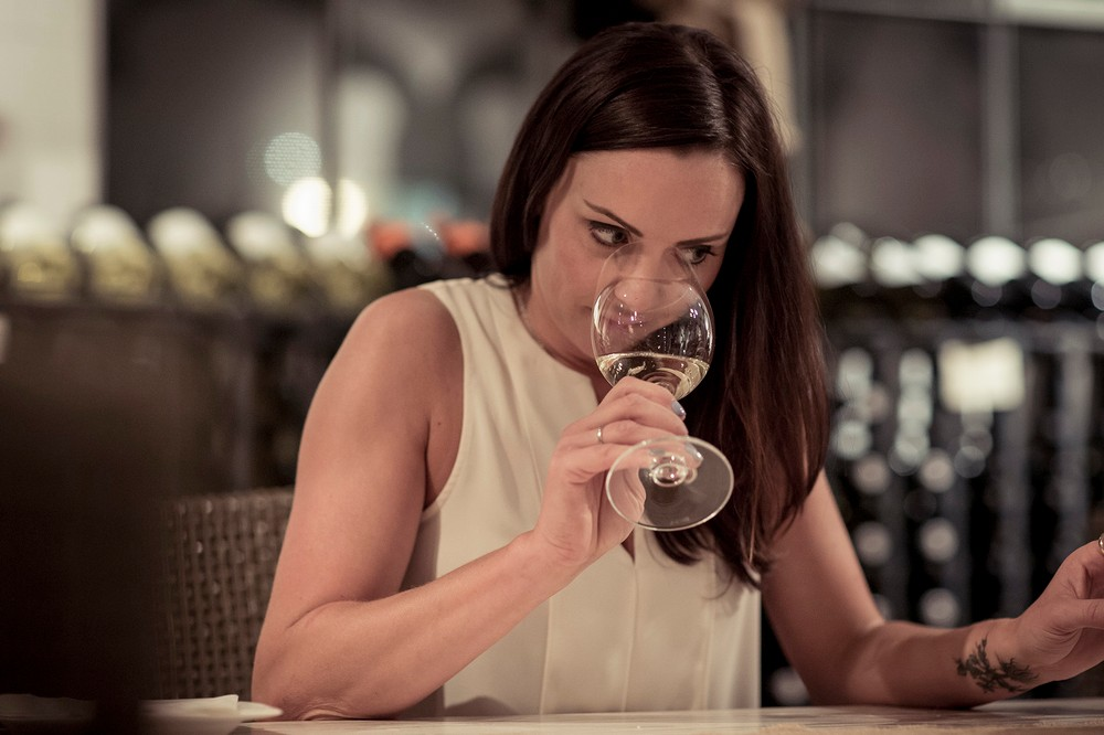 With all of this in mind, I invited Perrine to spend an hour or so  exploring the world of women-targeted wine in the form of a blind tasting,  ...