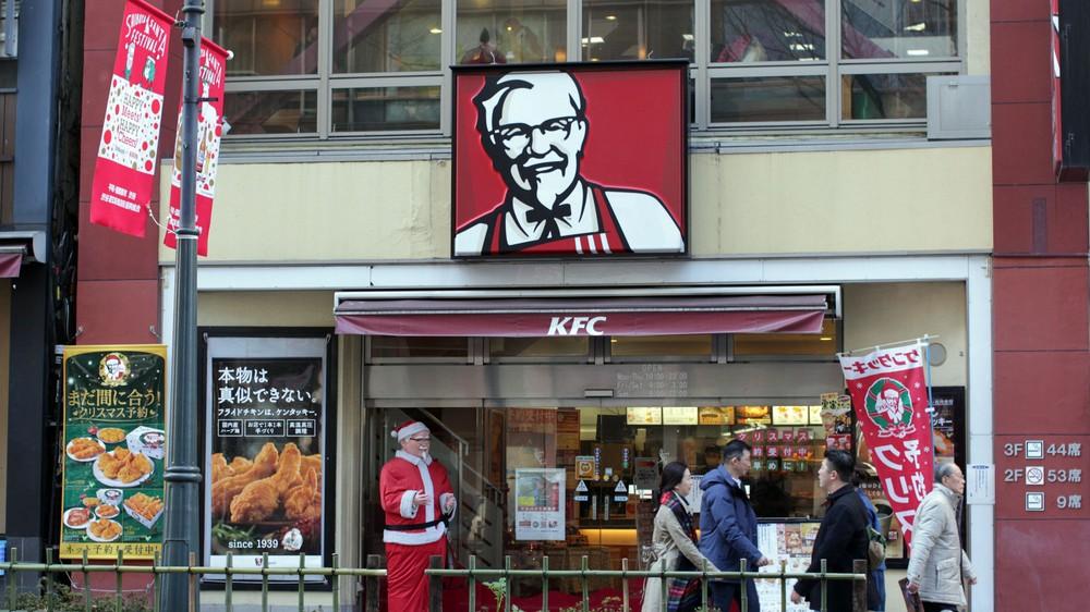 Kfc Christmas Japan.My Decadent Deep Fried Christmas With Kfc Japan Vice