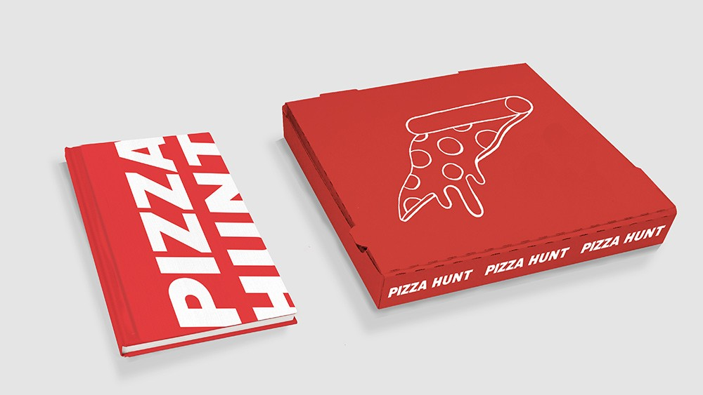 pizza-hunt-Limited edition Clamshell